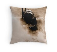 Caught  in between time #3 Throw Pillow