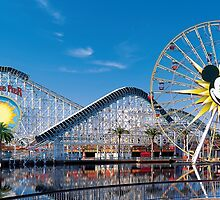 Disney California Adventure's Paradise Pier by JakeyJurin