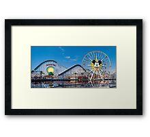 Disney California Adventure's Paradise Pier Framed Print