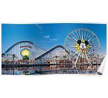 Disney California Adventure's Paradise Pier Poster