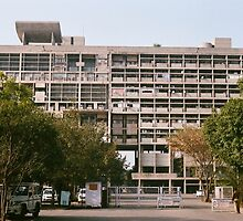 Facade of the Secretariat by JJQAD