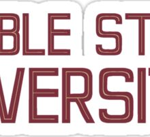 Fumble State University Sticker