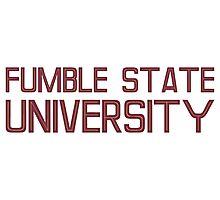 Fumble State University Photographic Print