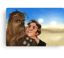 Star Wars selfie series: #5 Canvas Print