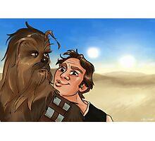 Star Wars selfie series: #5 Photographic Print