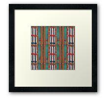 Pin striped part 2 Framed Print