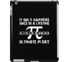 Cool 'Ultimate Pi Day 2015' T-shirts, Hoodies, Accessories and Gifts iPad Case/Skin
