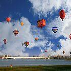 Balloon Fiesta, Canberra, AUSTRALIA by Anthony Caffery