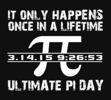 Cool 'Ultimate Pi Day 2015' T-shirts, Hoodies, Accessories and Gifts by Albany Retro