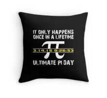 Amazing 'Ultimate Pi Day 2015 Gold' T-shirts, Hoodies, Accessories and Gifts Throw Pillow