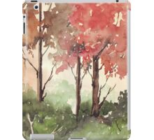 Trees are the Earth's Endless Effort iPad Case/Skin