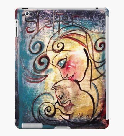 Cat Art Loralai Adoption Shelter Advocate iPad Case/Skin