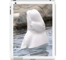 Beluga Says Hi iPad Case/Skin