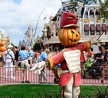 Magic Kingdom at Halloween by JakeyJurin