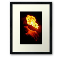 Illuminated Symbolism Framed Print
