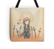 The Journey by Mary Oliver - [A Scribble] Tote Bag