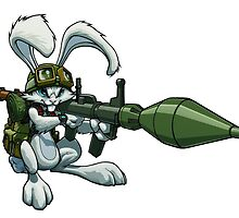 Bazooka Bunny by Gregory Titus