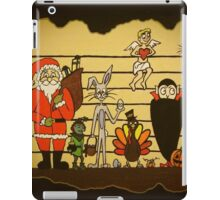 HOLIDAY LINEUP iPad Case/Skin