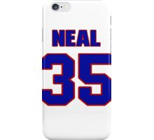 National football player Neal Anderson jersey 35 iPhone Case/Skin