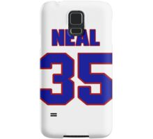 National football player Neal Anderson jersey 35 Samsung Galaxy Case/Skin