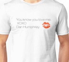Gossip Girl - XOXO Unisex T-Shirt