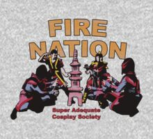 Fire Nation Cosplay Photo Edit Kids Clothes