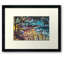 Coolum Beach Sunshine Coast Framed Print