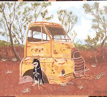 Cooper and the Truck by jbbb