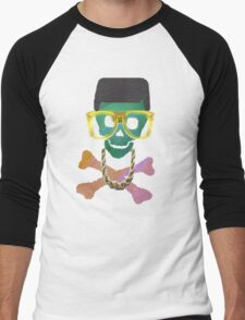 Retro Skull with Hightop Men's Baseball ¾ T-Shirt