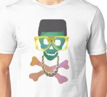 Retro Skull with Hightop Unisex T-Shirt