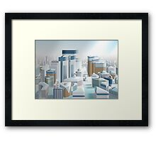 Some City Framed Print