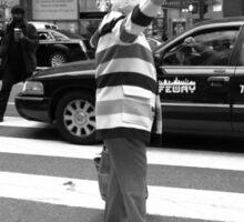 New York Street Photography 40 Sticker