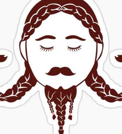 Lady Dwarf: Edda Sticker