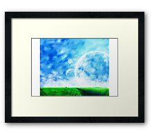 A Dreamy World Framed Print