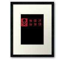Vampire Tribes Framed Print
