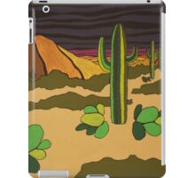 THE DESERT iPad Case/Skin
