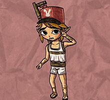 Toon Warrior Hero (Postman Outfit) by skywaker
