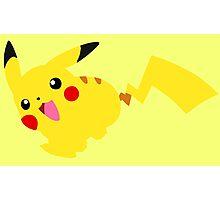 Cute Pikachu Photographic Print