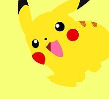 Cute Pikachu by coachkamui