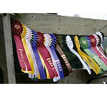 """Ribbons"" Photographic Print"