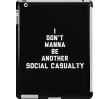 Social Casuality iPad Case/Skin
