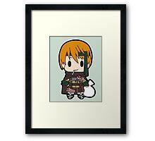 Gaius Chibi Framed Print