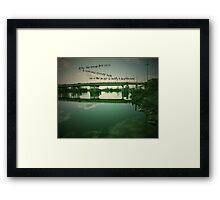 Synopsis (A Fairy Tale) Part 1 Framed Print