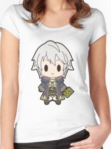 Robin (Male) Chibi Women's Fitted Scoop T-Shirt