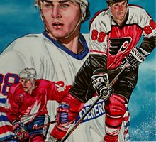 Eric Lindros by JohnnyMacK