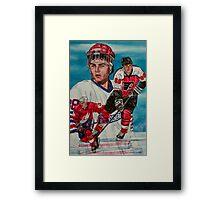 Eric Lindros Framed Print