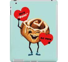 Cinnamon Bun Valentine iPad Case/Skin