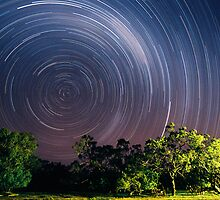 Startrails in Australia's remote Outback by Speedy