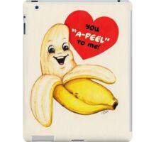 Valentine's Day! Banana Valentine iPad Case/Skin