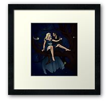 The Pirate and the Star Princess Framed Print